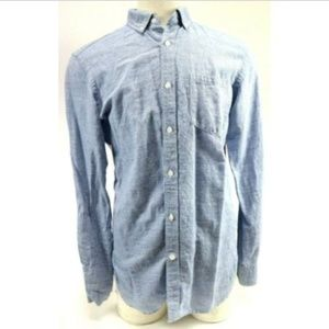 Banana Republic Men's Casual Shirt Size M Blue
